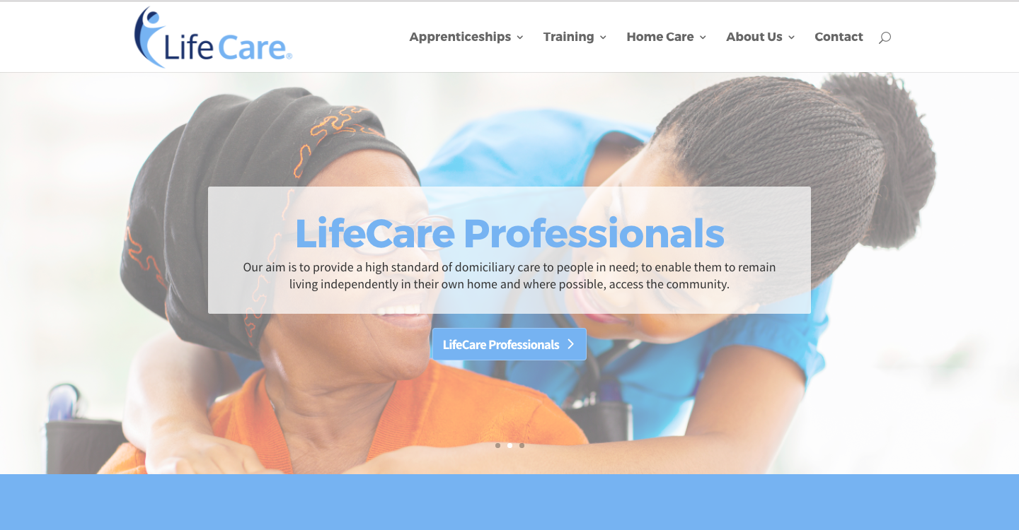 Screen Shot 2017 03 02 at 10.49.45 - Rebranding for healthcare and training organisation