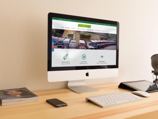 Web Design for Classic Car Dealership
