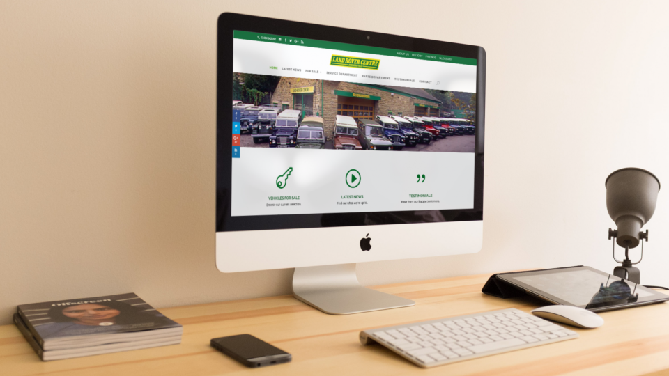 Web Design for Classic Car Dealership