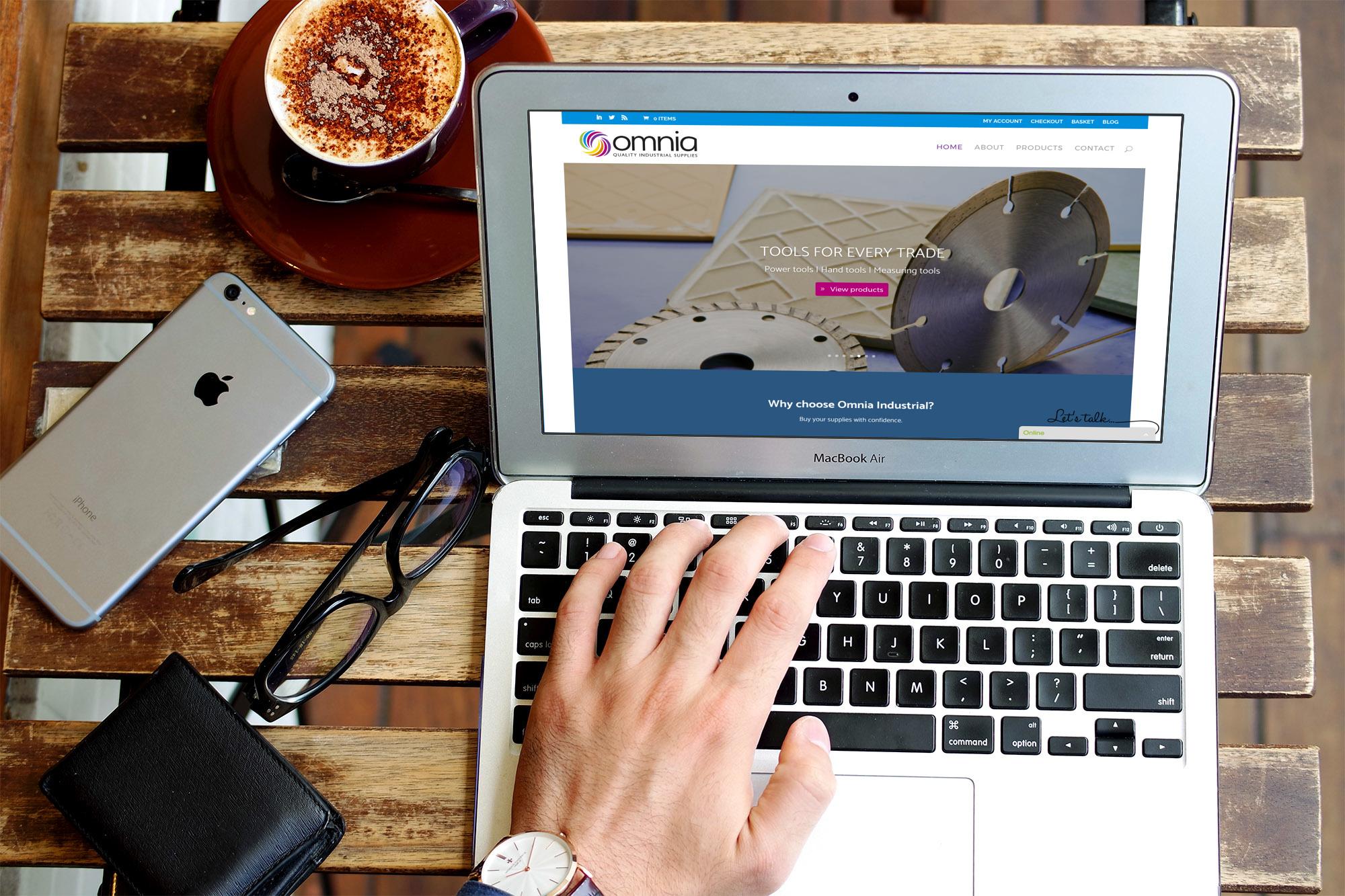 oinmockup - Ecommerce website design for industrial supplies retailer