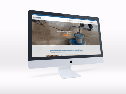 Website Redesign for Specialist Cleaning Company