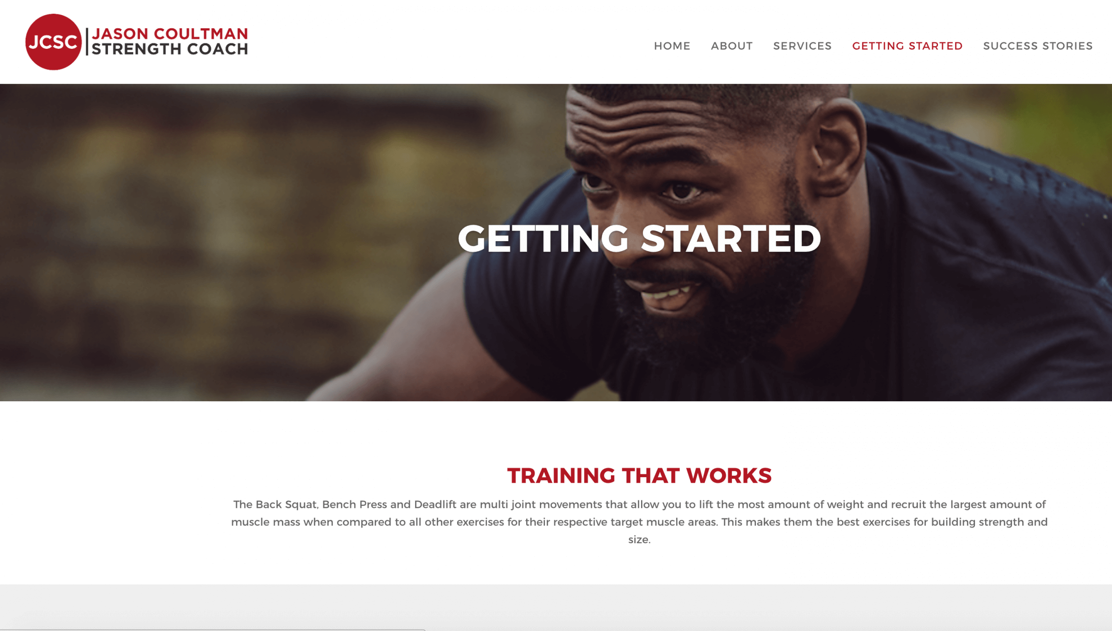 Screen Shot 2017 07 05 at 08.54.16 e1507566202548 - Website design for personal trainer in London