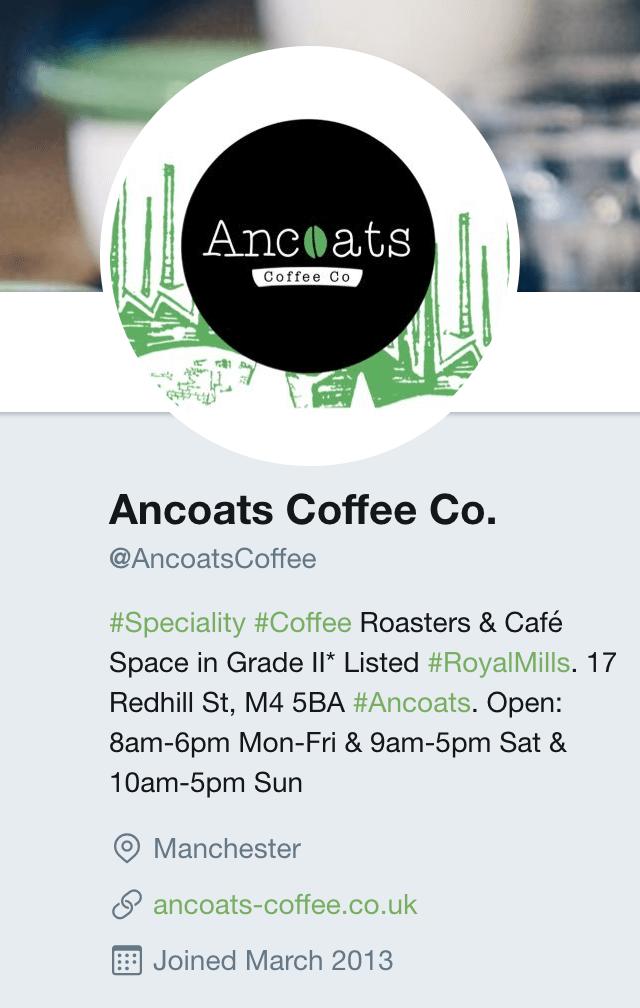 Details twitter - Top 5 social media marketing tips for cafes and restaurants food-drink-marketing
