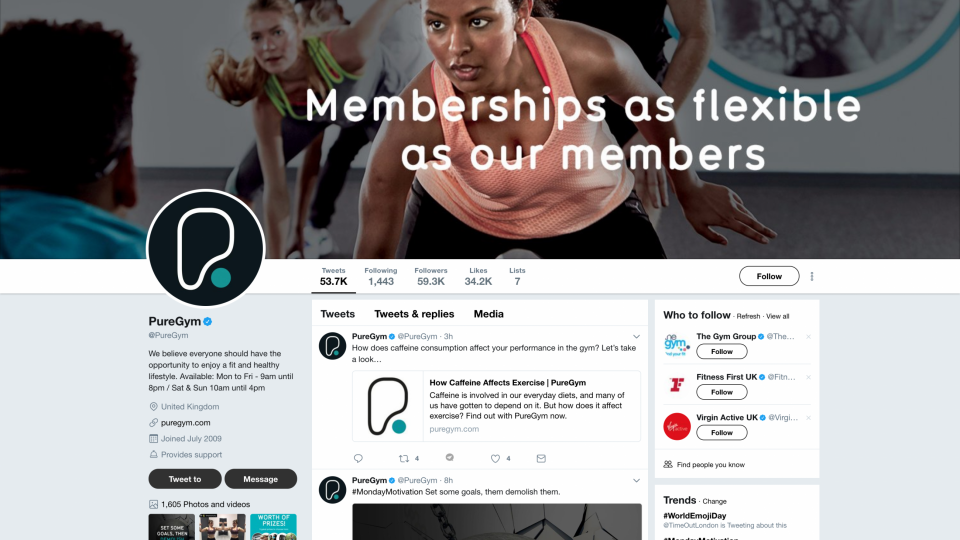 Top 5 social media marketing tips for gyms and personal trainers