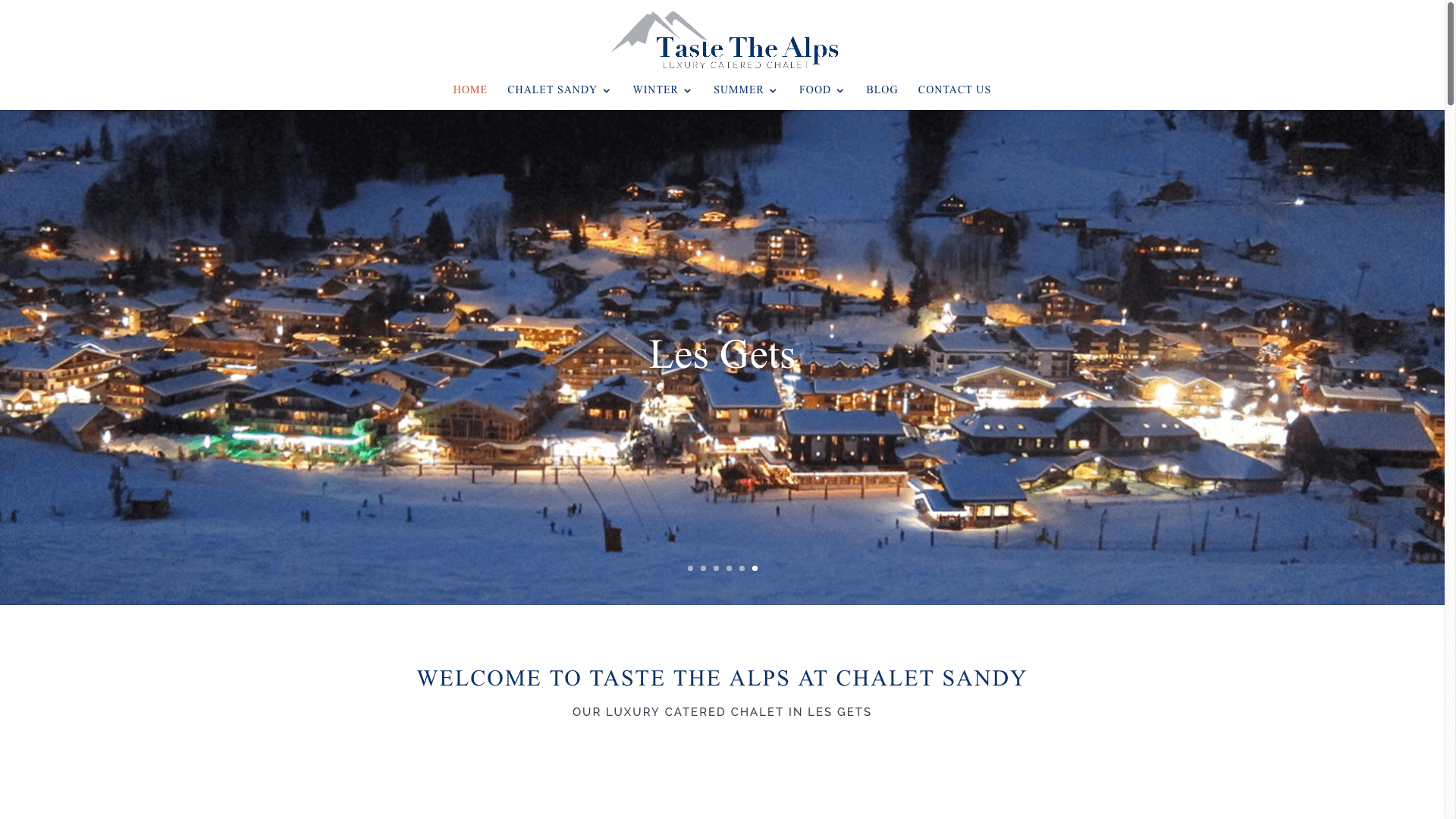 Screen Shot 2017 08 30 at 5.15.30 pm - Website design for ski chalet company