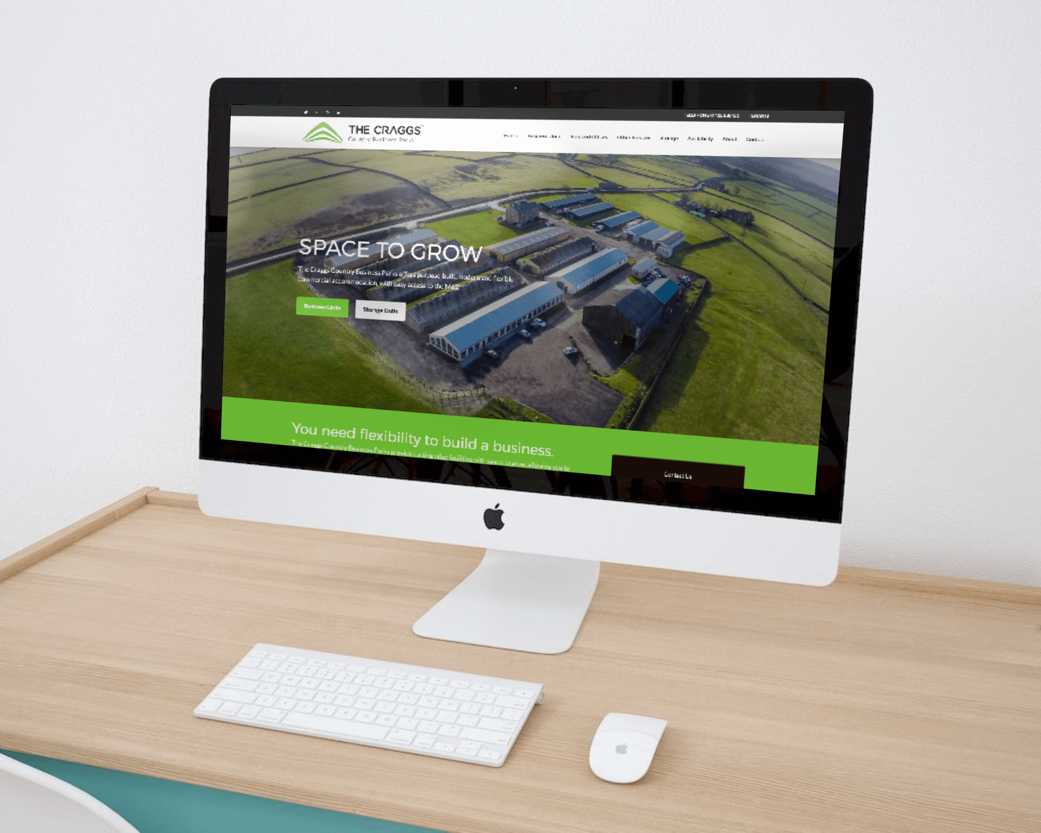 Website Redesign for Property Development and Management Company