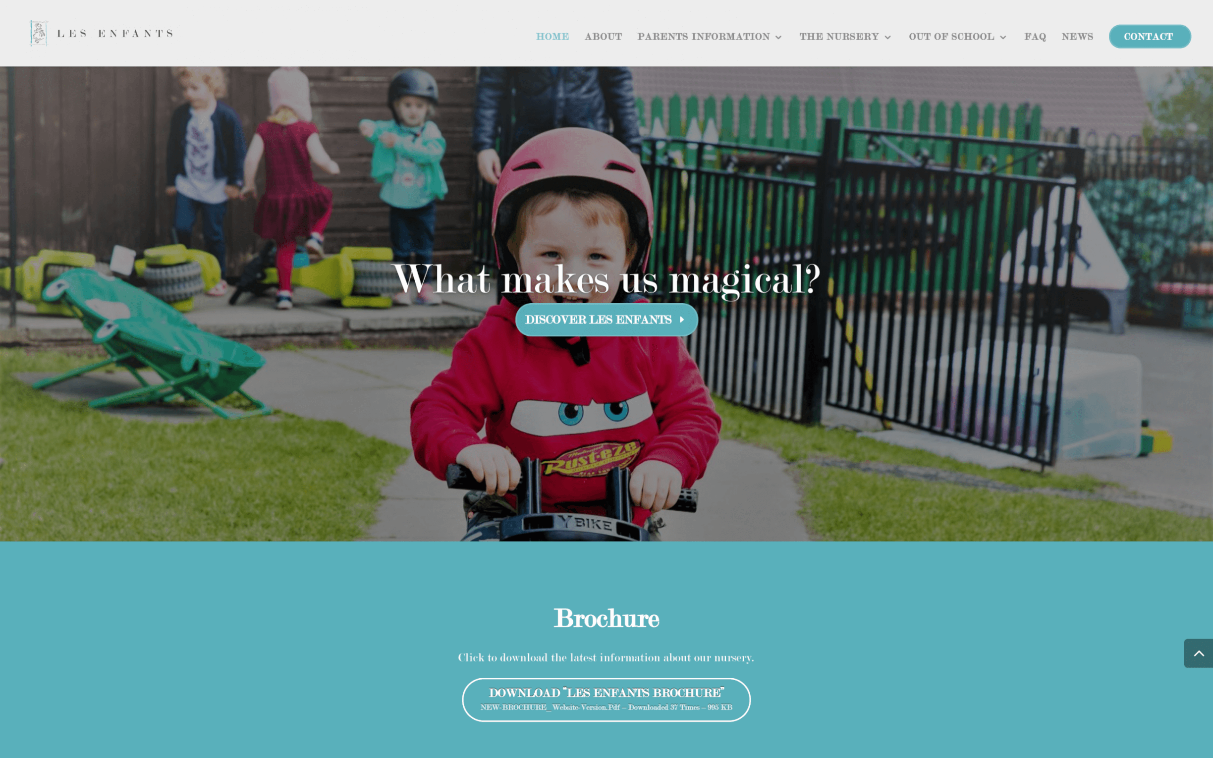 Screen Shot 2017 09 07 at 17.02.03 - Website design for established nursery school