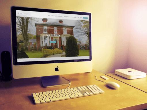 Website design for established nursery school