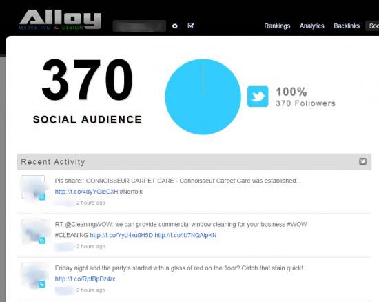 AlloyMarketing rankingstool2 550x438 - Local Rank Tracking Tool & Analytics Dashboard