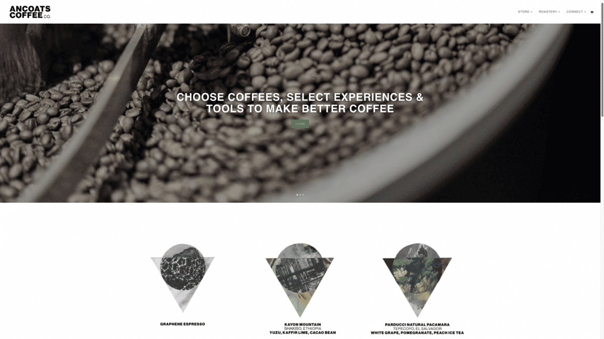 Ancoats Coffee After 1200x675 - Cafe and coffee roastery website design