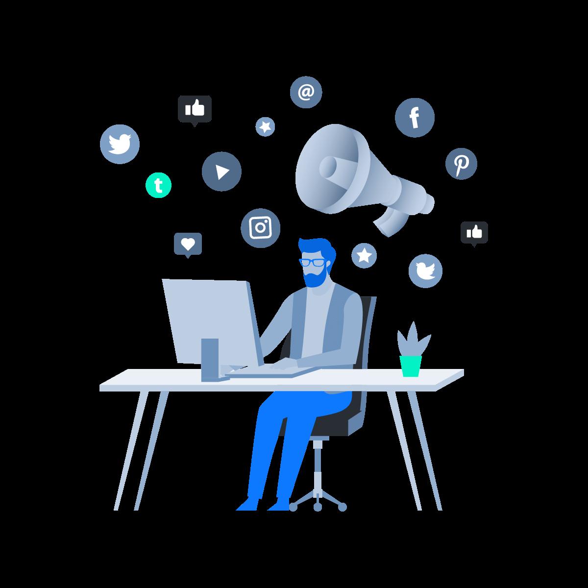 Artboard 10 - Social media marketing services