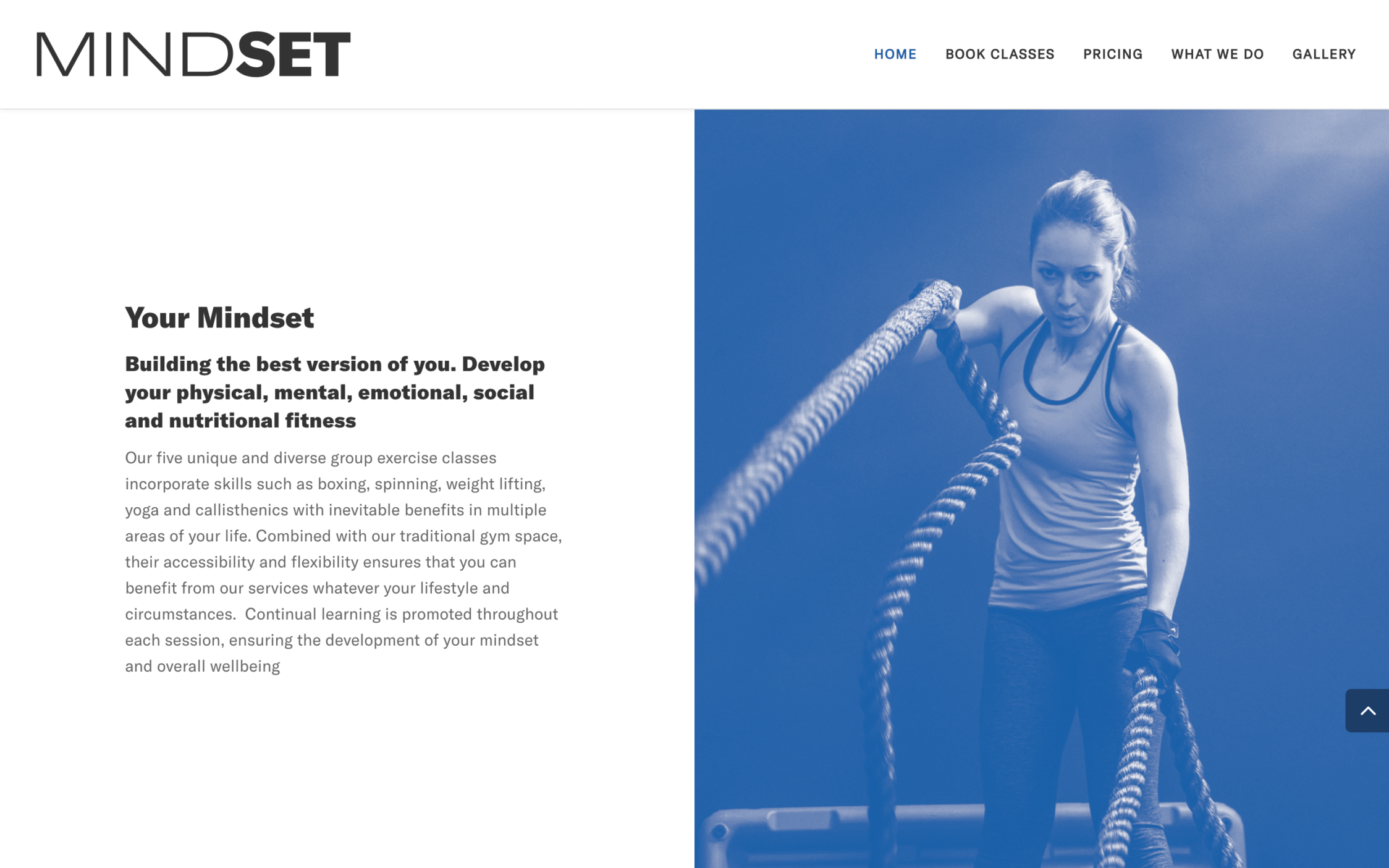 Screen Shot 2019 03 20 at 12.53.32 2 - Website design for high end gym