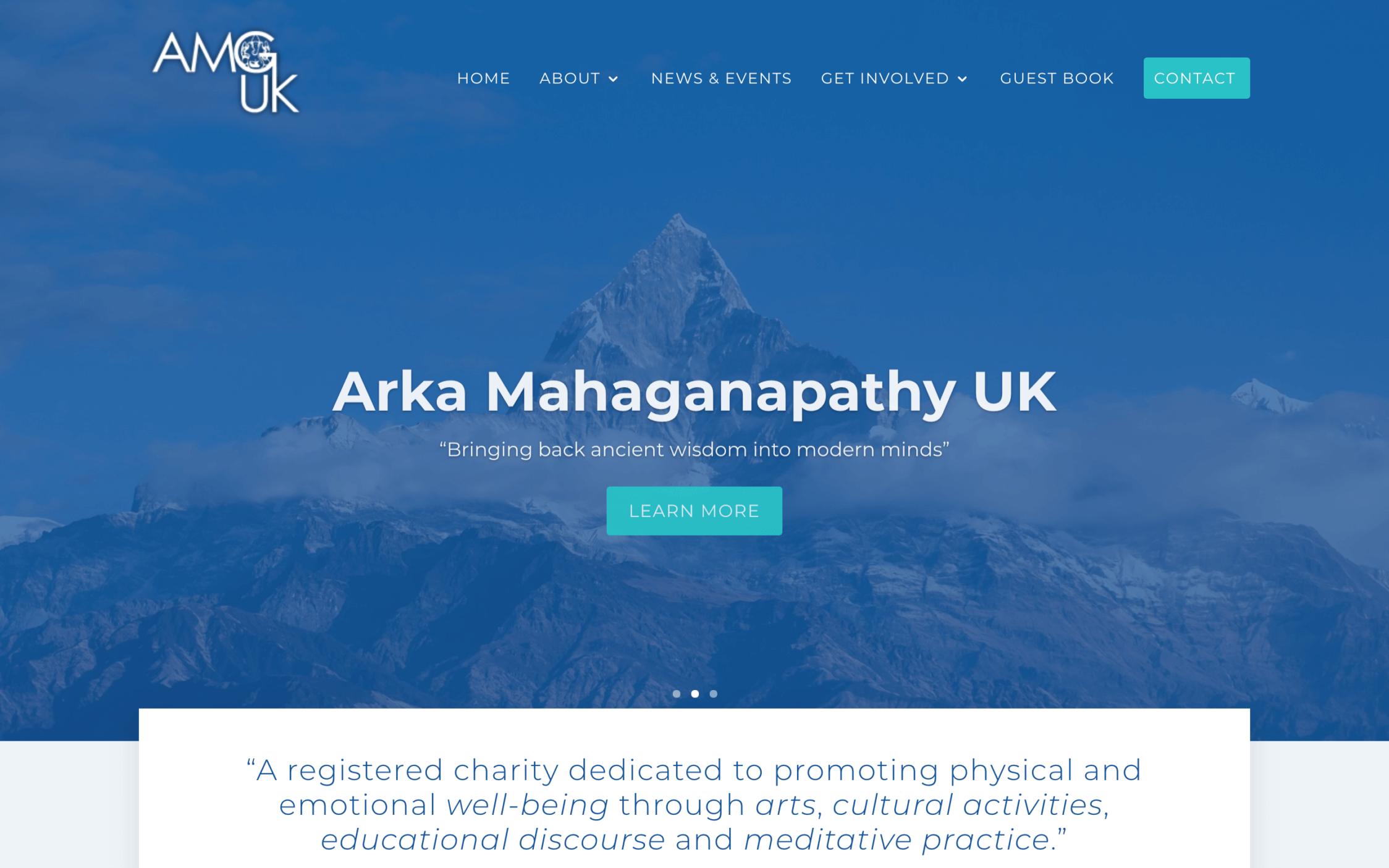 Screen Shot 2019 03 20 at 13.16.27 2 - Website design for charity organisation