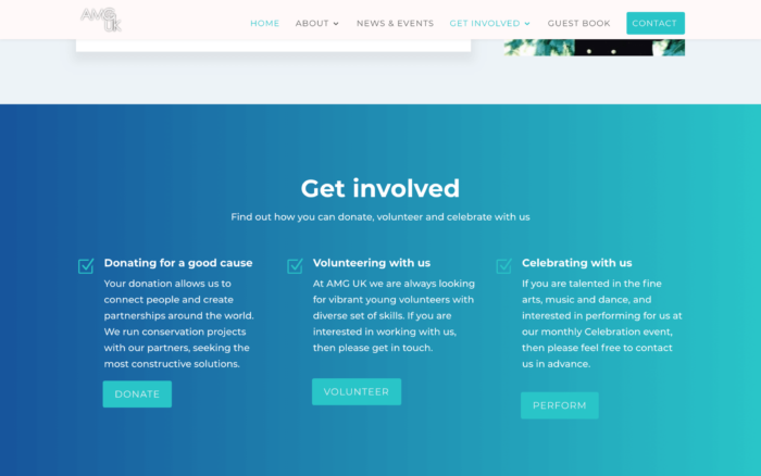 Screen Shot 2019 03 20 at 13.16.43 2 700x438 - Website design for charity organisation