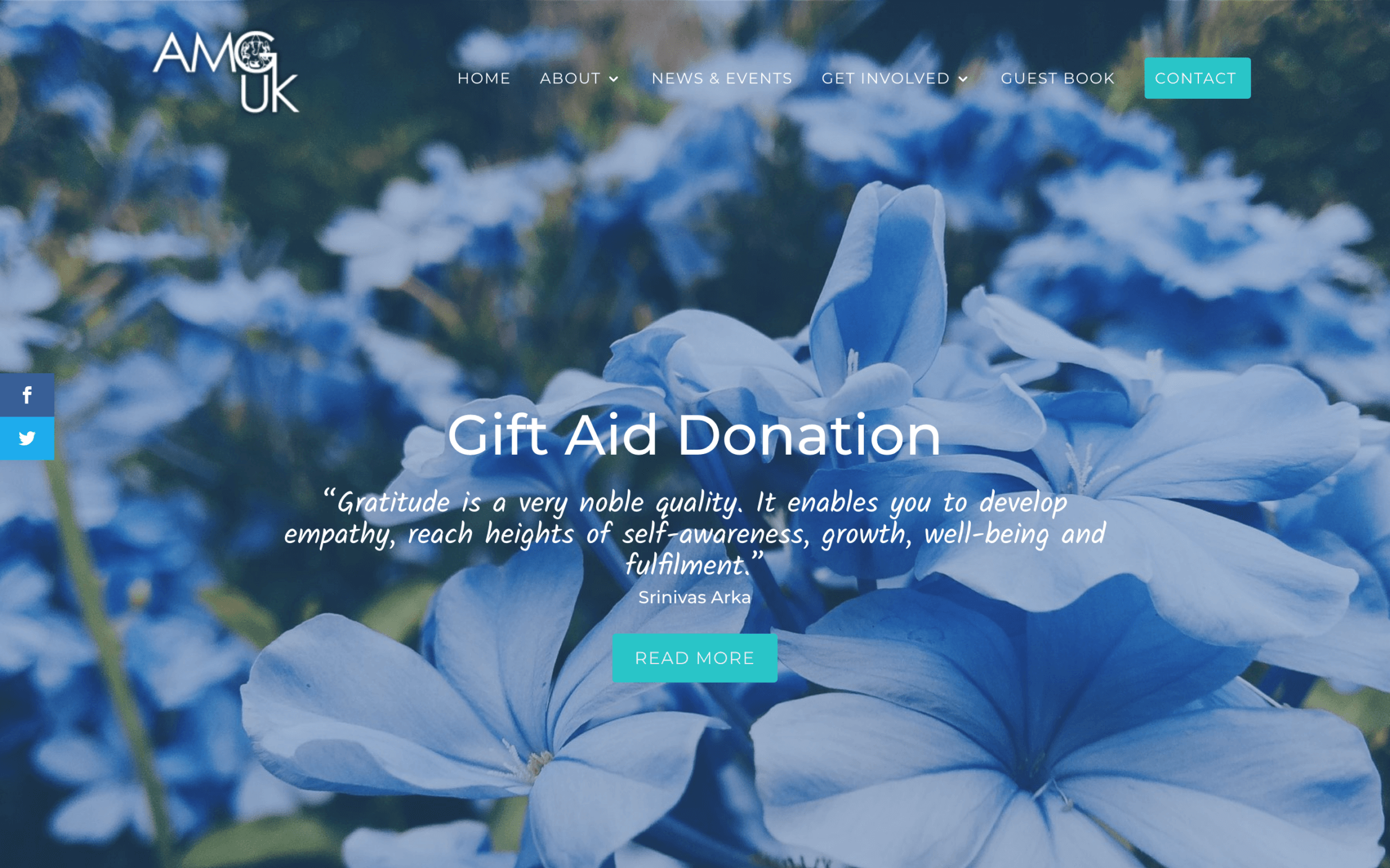 Screen Shot 2019 03 20 at 13.17.03 2 - Website design for charity organisation