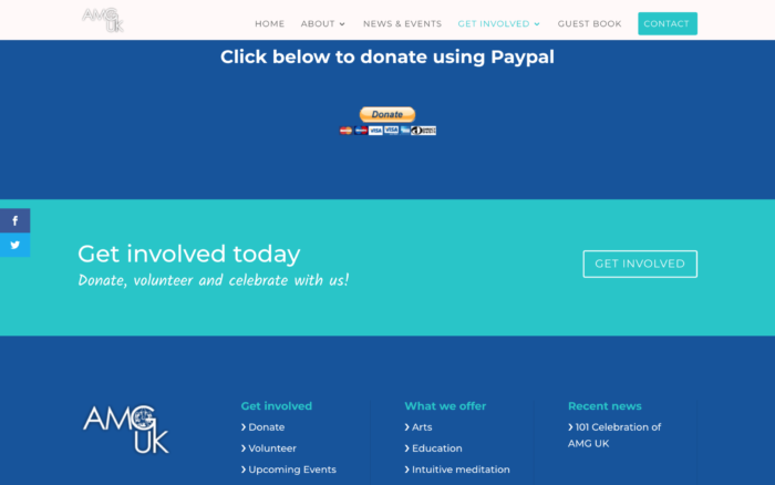 Screen Shot 2019 03 20 at 13.17.15 2 700x438 - Website design for charity organisation