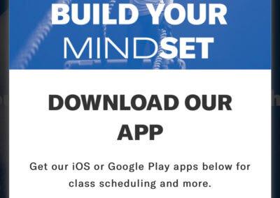 App store pop up