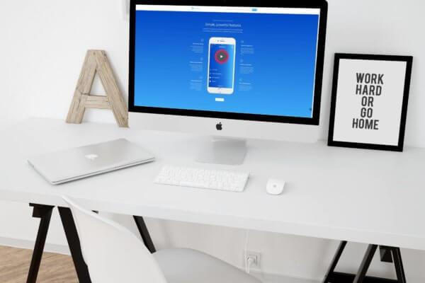 smartmockups jufmp40w 600x400 - Website design for project management app